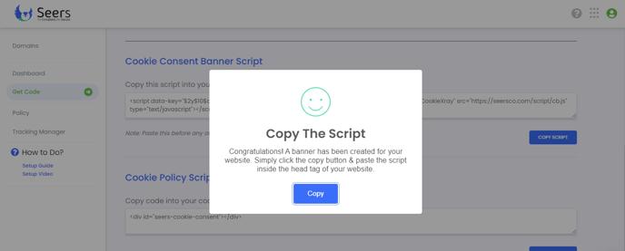 Copy the Script